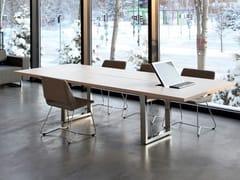 Tavolo da riunione modulare rettangolare IN-TENSIVE | Tavolo da riunione rettangolare - In-Tensive
