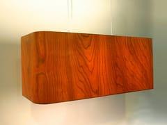 Lampada a sospensione in legno impiallacciato MESA VERDE -
