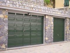 Portone da garage in acciaio LPU 40 Cassettone -
