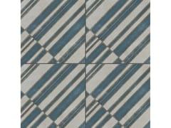 Pavimento/rivestimento in gres porcellanato smaltato AZULEJ GRIGIO DIAGONAL - AZULEJ