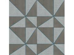 Pavimento/rivestimento in gres porcellanato smaltato AZULEJ GRIGIO GIRA - AZULEJ