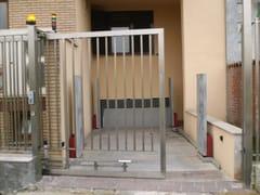 Cancello motorizzato scorrevole in metalloCancello scorrevole - CARMEC