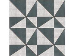 Pavimento/rivestimento in gres porcellanato smaltato AZULEJ NERO GIRA - AZULEJ