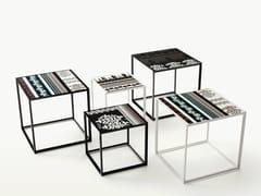 Tavolino da giardino quadrato in gres porcellanatoCANASTA | Tavolino quadrato - B&B ITALIA OUTDOOR, A BRAND OF B&B ITALIA SPA