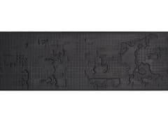 Pavimento/rivestimento in gres porcellanato per interni BAS-RELIEF CLOUD NERO - BAS-RELIEF
