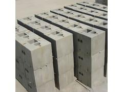 Elemento strutturale prefabbricato in cemento armatoPlinti per pali da illuminazione - GIORNI OSCAR PREFABBRICATI