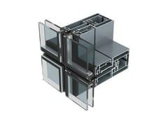 ALUK Group, AW86S Sistema per facciata continua in alluminio
