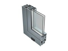 Finestra in alluminio con doppio vetro45 N - ALUK GROUP