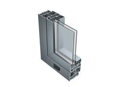 Finestra in alluminio con doppio vetro55 N - ALUK GROUP