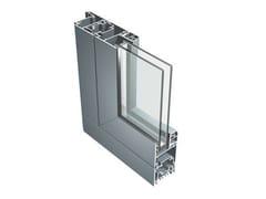 Finestra in alluminio con doppio vetroB 60 - ALUK GROUP