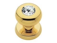 Pomolo per porta in ottone cromato con cristalli Swarovski® ELIKA CRYSTAL   Pomolo per porta - Elika Crystal