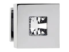 Pomolo per porta in ottone cromato con cristalli Swarovski® REFLEX | Pomolo per porta - Reflex