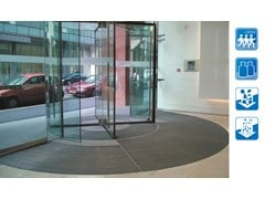 Zerbino tecnico RADIAL - Sistemi di tappeti tecnici per l'ingresso
