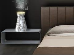Lampada da tavolo a luce indiretta in alluminio ULUS | Lampada da tavolo - district