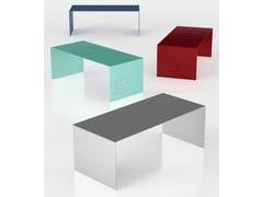 Tavolo rettangolare in alluminioPLEX - ALTREFORME