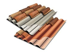 Lastre profilate in PVA cemento TEGOLIT 200 - TEGOLIT PLUS 200 - Tegolit