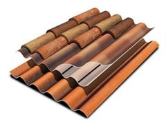 EDILFIBRO, TEGOLIT INTEGRALE 200 Lastra portacoppo in PVA cemento
