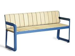 VESTRE, AIR | Panchina con schienale  Panchina con schienale