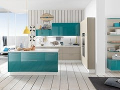 Cucina componibile con isola ALICANTE MINI & FUNCTIONALITY -