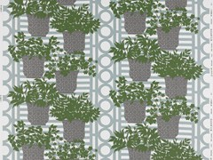 Equipo DRT, PATMOS Tessuto con motivi floreali per tende