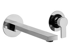 Miscelatore per lavabo a 2 fori a muro monocomando IKO | Miscelatore per lavabo a muro - Iko