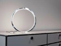 Lampada da tavolo a LED in alluminio CIRCOLO SLIM | Lampada da tavolo - Circolo