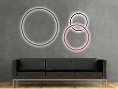 Lampada da parete a LED in alluminio CIRCOLO SLIM | Lampada da parete - Circolo