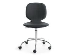 Sedia ufficio operativa ad altezza regolabile girevole a 5 razze ALIS R | Sedia ufficio operativa - Alis