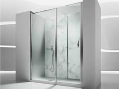 VISMARAVETRO, IN 1 Box doccia a nicchia in vetro temperato