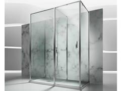 VISMARAVETRO, IN 3 Box doccia su misura in vetro temperato