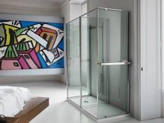 VISMARAVETRO, PARETE RADIANTE PER BOX DOCCIA Parete radiante per box doccia in vetro temperato