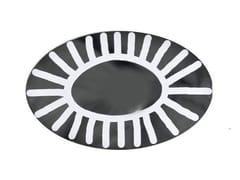 Specchio ovale a parete BRICK 96 - Brick