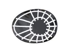 Specchio ovale a parete BRICK 97 - Brick