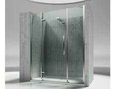 Box doccia a nicchia in vetro temperato TIQUADRO QM - Tiquadro