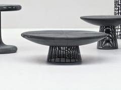 Tavolino basso rotondo in filo di ferro FILO 03 - Filo