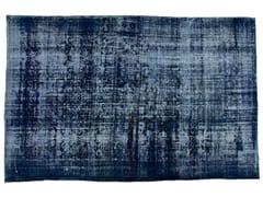 Tappeto vintage ricolorato DECOLORIZED DARK BLUE - Carpet Reloaded