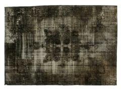 Tappeto vintage ricolorato DECOLORIZED GREY - Carpet Reloaded