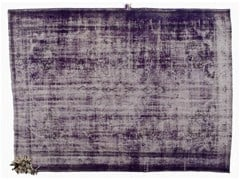 Tappeto vintage ricolorato DECOLORIZED MOHAIR PURPLE - Carpet Reloaded