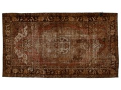Tappeto vintage ricolorato DECOLORIZED MOHAIR BROWN - Carpet Reloaded