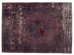 Tappeto vintage ricolorato DECOLORIZED MOHAIR LILLA - Carpet Reloaded