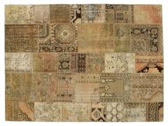 Tappeto patchwork vintage ricolorato PATCHWORK BEIGE - Carpet Reloaded