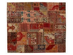 Tappeto patchwork vintage ricolorato PATCHWORK CLASSIC - Carpet Reloaded