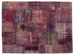 Tappeto patchwork vintage ricolorato PATCHWORK LILLA - Carpet Reloaded