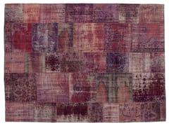 Tappeto patchwork vintage ricolorato PATCHWORK LILLA - Carpet Reloaded