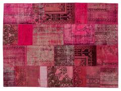 Tappeto patchwork vintage ricolorato PATCHWORK PINK - Carpet Reloaded