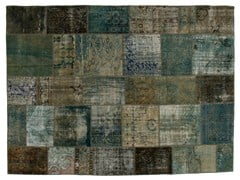Tappeto patchwork vintage ricolorato PATCHWORK GREY - Carpet Reloaded