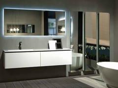 Mobile lavabo laccato sospeso K.FORTY | Mobile lavabo singolo - K.Forty