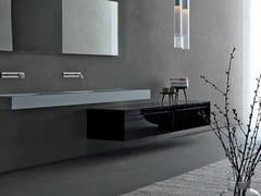Mobile bagno basso sospeso ZERO | Mobile bagno basso - Zero