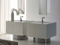 Mobile lavabo laccato LESS | Mobile lavabo - Less