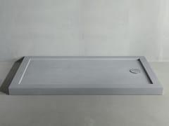 RIFRA, LINE CONCRETE Piatto doccia rettangolare in cemento